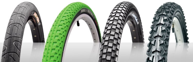 different bike tires